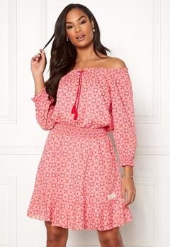 Odd Molly Stayin Free Dress Blush Pink Bubbleroom.no