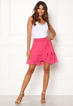 Odd Molly Superflow Skirt Blush Pink Bubbleroom.no