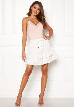 Odd Molly Swag Blossom Skirt Light Chalk Bubbleroom.no