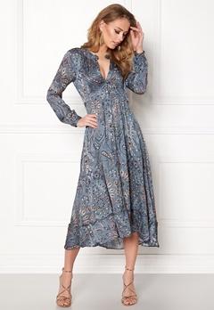 Odd Molly Triumph Long Dress Misty Blue Bubbleroom.no