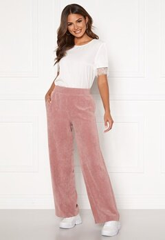 ONLY Alma-Nelle MW Wide Cord Pant Burlwood Bubbleroom.no