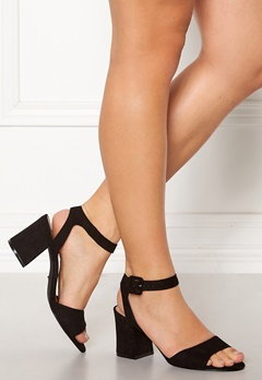 ONLY Amanda Heeled Sandal Black Bubbleroom.no
