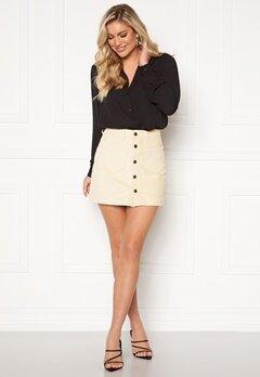ONLY Amazing HW Corduroy Skirt Whitecap Gray Bubbleroom.no