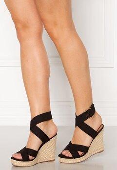 ONLY Amelia Wrap Heeled Sandal Black Bubbleroom.no
