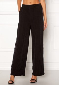 ONLY Anja Wide Pant Black Bubbleroom.no