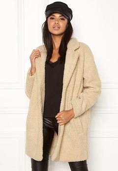 ONLY Aurelia Shearling Coat Nomad Bubbleroom.no
