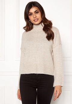 ONLY Babylou L/S Pullover Pumice Stone Bubbleroom.no