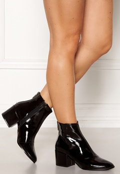 ONLY Belen Zip Patent Bootie Black Bubbleroom.no