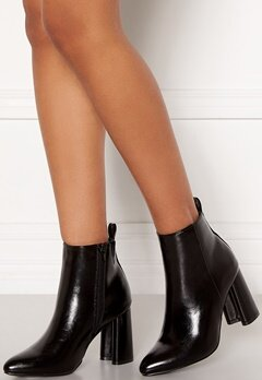 ONLY Brodie Pu Heeled Boot Black Bubbleroom.no