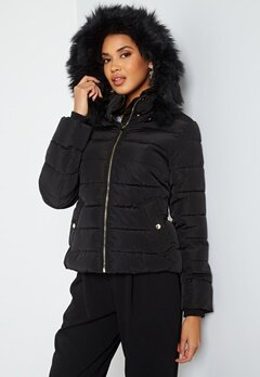 ONLY Camilla Quilted Jacket Black bubbleroom.no