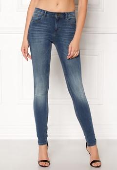 ONLY Carmen Reg Skinny Jeans Medium Blue Denim Bubbleroom.no