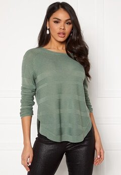 ONLY Caviar L/S Pullover KNIT Chinois Green Bubbleroom.no