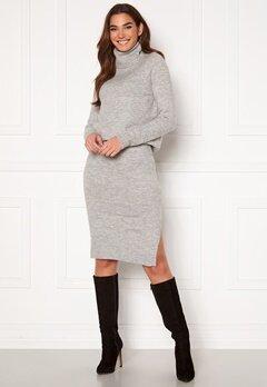 ONLY Cille Skirt Ex Knit Ligth Grey Melange Bubbleroom.no