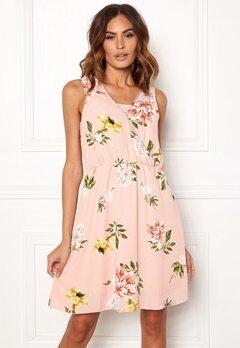 ONLY Dalia S/L Sarah Dress Rose Smoke Bubbleroom.no