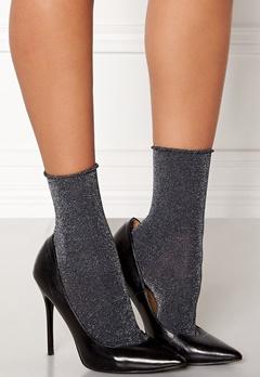ONLY Darla Socks 3-Pack Metallic Black Bubbleroom.no