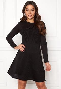 ONLY Darling L/S Dress Black Bubbleroom.no