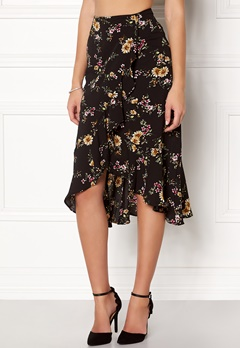 ONLY Ella Flounce Skirt Flowers Bubbleroom.no
