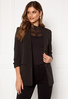 ONLY Elly 3/4 Life Blazer Black Bubbleroom.no