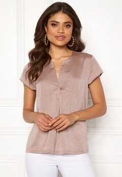 ONLY Esther Cap Sleeve Top Fawn Bubbleroom.no