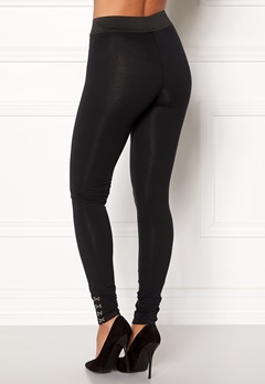 ONLY Fabinna NW Ankel Leggins Black Bubbleroom.no