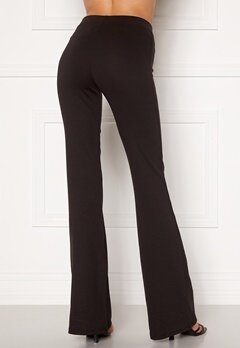 ONLY Fever Stretch Flaired Pants Black Bubbleroom.no