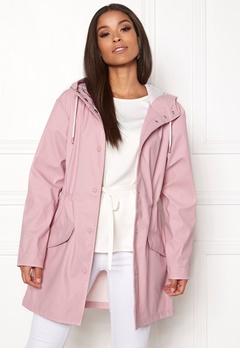 ONLY Fine Raincoat Pink Nectar Bubbleroom.no