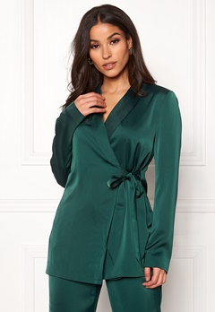 ONLY Gaby Carolina Wrap Blazer Green Gables Bubbleroom.no
