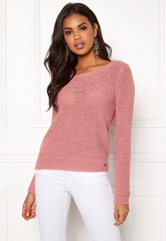 ONLY Geena L/S Pullover Blush Bubbleroom.no
