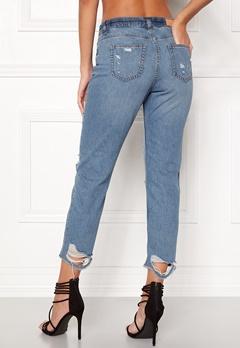 ONLY Gurli Denim Jeans Medium Blue Denim Bubbleroom.no