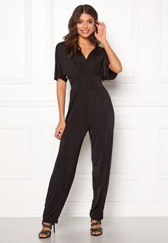 ONLY Iris S/S Jumpsuit Black Bubbleroom.no