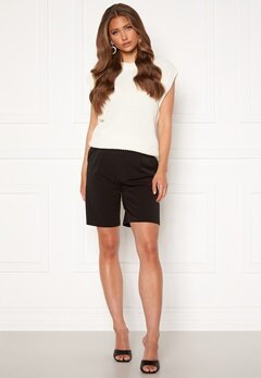ONLY Ivy Tailored Long Shorts Black<br>  bubbleroom.no