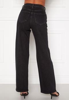 ONLY Juicy HW Black Wide Leg Jeans Black Denim Bubbleroom.no