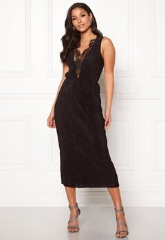 ONLY Lena S/L Lace Dress Black Bubbleroom.no