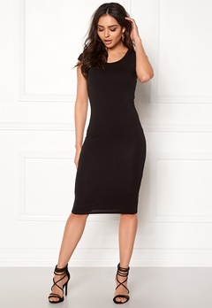 ONLY Mallika Capsleeve Dress Black Bubbleroom.no