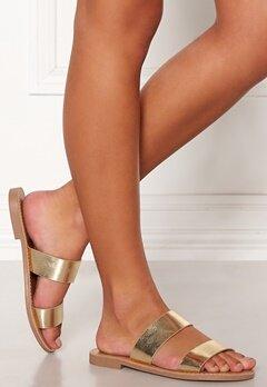 ONLY Mandala Metallic Sandal Gold Colour Bubbleroom.no