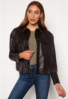 ONLY Marina Faux Jacket Black Bubbleroom.no