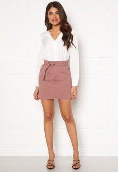 ONLY Matilda-Lykke Mini Skirt Burlwood Bubbleroom.no