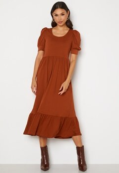 ONLY May Life S/S Puff Dress Arabian Spice Bubbleroom.no