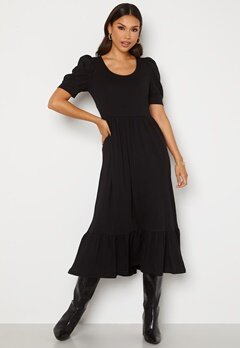 ONLY May Life S/S Puff Dress Black Bubbleroom.no