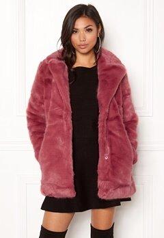 ONLY Milana Faux Fur Coat Baroque Rose Bubbleroom.no