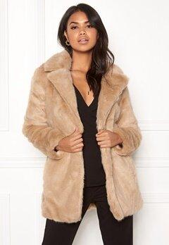 ONLY Milana Faux Fur Coat Pure Cashmere Bubbleroom.no