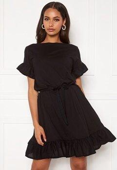 ONLY Mitza Life S/S Dress Black Bubbleroom.no