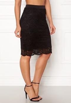 ONLY New Sierra Skirt Black Bubbleroom.no
