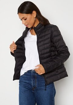 ONLY Newtahoe Quilted Jacket Black Bubbleroom.no