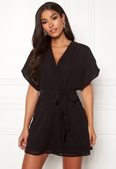 ONLY Paige Life SS Playsuit Black Bubbleroom.no