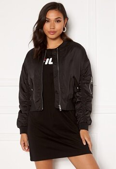 ONLY Patty Bomber Jacket Black Bubbleroom.no