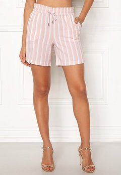 ONLY Piper Shorts Rose Dust/Stripes Bubbleroom.no