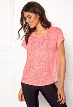 ONLY PLAY Beate Loose SS Tee Lipstick Pink Bubbleroom.no