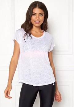ONLY PLAY Beate Loose SS Tee White Bubbleroom.no