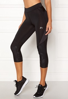 ONLY PLAY Delphine 3/4 Training Tights Black Bubbleroom.no